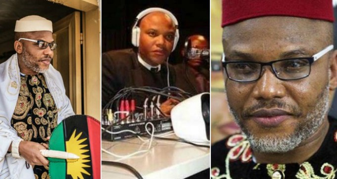 Image result for Nnamdi Kanu, leader of the proscribed Indigenous People of Biafra (IPOB),